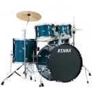 Tama SG50H5C Stagestar Drumkit Package in Hairline Blue