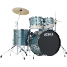 Tama SG50H5C Stagestar Drumkit Package in Charcoal Silver