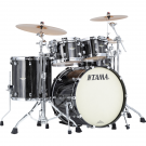 Tama Starclassic Maple 4 Piece Shell Pack in Black Clouds Silver Linings