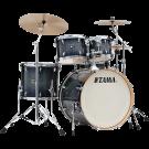 "Tama Superstar Classic 5pce 22"" Euro sizes Drum Kit with Hardware in Dark Indigo Burst."