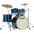 """TAMA Superstar Classic 4-Piece Shell Pack with 18"""" Bass Drum in - Indigo Sparkle (ISP) - with SM5W Hardware Pack Included"""