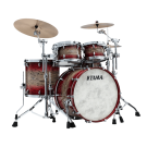 "TAMA STAR Walnut 4-piece Shell Pack with 22"" Bass Drum in - Garnet Japanese Sen Burst (AGJB)"