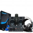 PreSonus Ultimate Bundle USB96 with Microphone, Headphones and Eris 3.5 monitors - Black