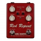 Carl Martin Red Repeat 2016 Analogue Delay Pedal with Tap Tempo and Modulation