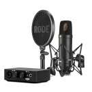 Rode NT1 Condensor Microphone plus AI1 Interface Complete Studio Kit