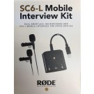 RODE -  SC6-L  Mobile Interview Kit Dual -  TRRS input and headphone output for Apple Devices