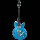 Eastman Romeo LA Semi-Hollow Body Electric Guitar in Celestine Blue - Preorder