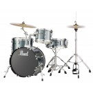 "Pearl Roadshow-X 18"" 4pce Drum Kit Package in Charcoal Metallic"