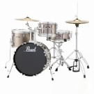 "Pearl Roadshow 18"" 4pc Drum Kit Package in Bronze Metallic"