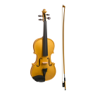 Stentor Harlequin Series 3/4 Size Violin in Metallic Gold