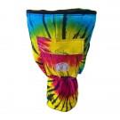 "Samba 12"" Djembe Bag in Tie Die Pattern"