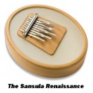 Hokema Sansula 9 Note Kalimba with Resonant Body and Remo Drumskin
