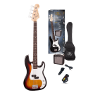 SX P Bass Kit in Sunburst