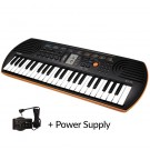 SA76 44 Note Mini Keyboard + Casio Power Supply