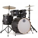 "Mapex Storm 5 Pce 22"" Bundle  Drum Kit Package in Textured Black"