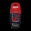 Shure EASFX1 Grey Soft Flex Sleeves for Shure In Ear Headphones