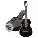 Ashton CG34 3/4 Nylon String Guitar Pack  Black