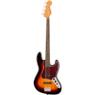 Squier Classic Vibe '60s Jazz Bass with Laurel Fingerboard in 3-Color Sunburst