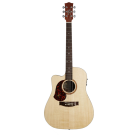 Maton SRS70CLH Solid Road Series Left Handed Acoustic Electric Guitar with Maton Hard Case