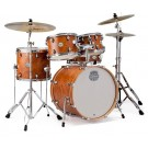 "Mapex Storm 5 Pce 20"" Fusion Drum Kit with Hardware in Camphor Wood Grain"