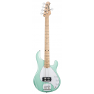 Sterling by Music Man Ray5 Electric 5 String Bass in Mint Green