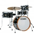 Tama LJK48H4 4pce Club Jam Drum Kit with Hardware  in Charcoal Mist Wrap