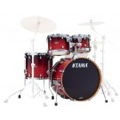 """Tama Starclassic Maple/Birch 4 Piece Shell Pack with 22"""" Bass Drum in DCF"""
