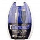 ART - TConnect USB-To-Guitar Interface Cable