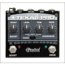 Radial Texas Pro Overdrive and Boost Pedal