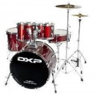 """DXP 20"""" Fusion Drum Kit Package in Wine Red"""