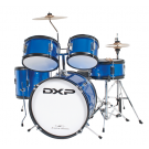 DXP TXJ5 Junior Drum Kit in Metallic Blue