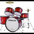 DXP TXJ5 Junior Drum Kit in Wine Red