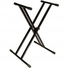Ultimate Support IQ-2000 Double Braced X Stand for Keyboard