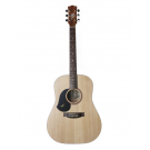 Maton S60 Left Handed Acoustic Guitar with Maton Hard Case