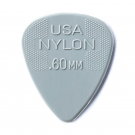 Dunlop USA Nylon .60mm Picks 6 Pack