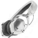 V-Moda XS On-Ear Headphones in White Silver