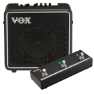 Vox Mini Go 50 Guitar Amp Set with VFS3 Footswitch
