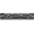 Behringer X-LIVE Expansion Card for 32 Channel Live Recording/Playback on SD/SDHC Cards and USB Audio/MIDI Interface