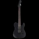 ESP LTD TE-417 7 String Electric Guitar in Black Satin