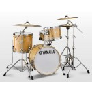 Yamaha Stage Custom Bop Drum Kit with Crosstown Hardware in Natural Wood
