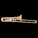 Yamaha YSL456A Professional Bb/F Trombone