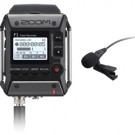 Zoom FXR101LP F1 Field Recorder with Lavalier Microphone