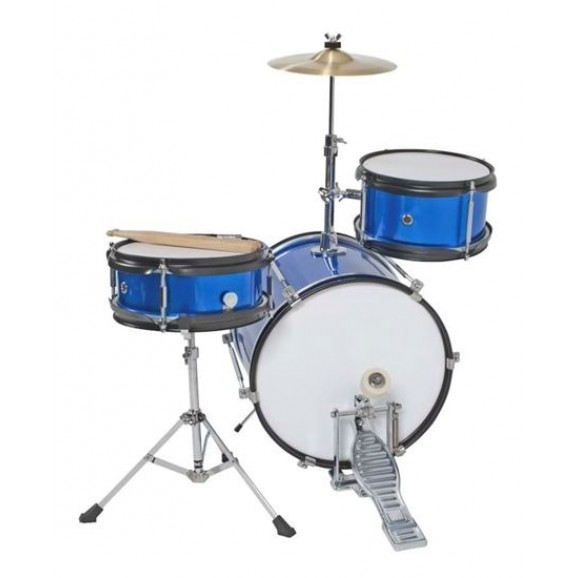 DXP 3pce Junior Drum Kit 3 in Metallic Blue