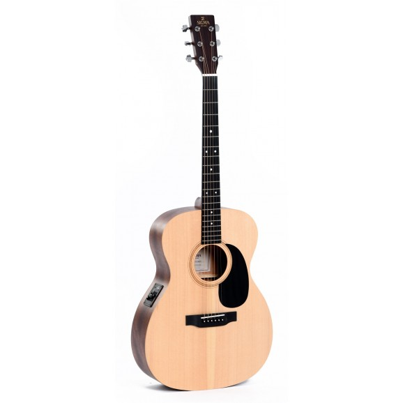 Sigma 000ME Acoustic / Electric Guitar w/ Solid Sitka Spruce Top