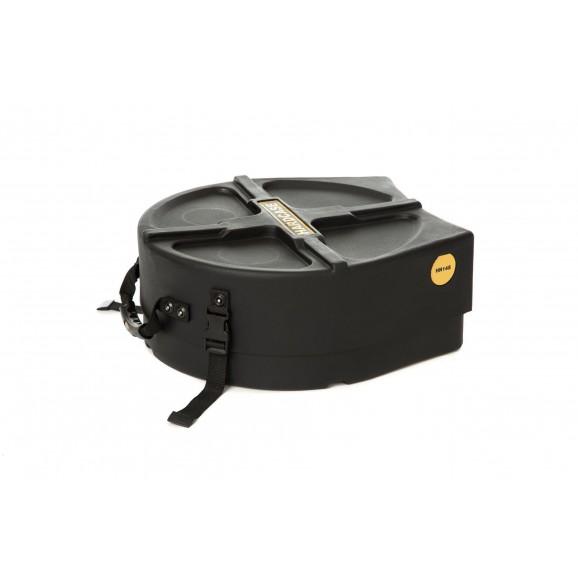 "Hardcase 14"" Snare Drum Case with Storage in Black"