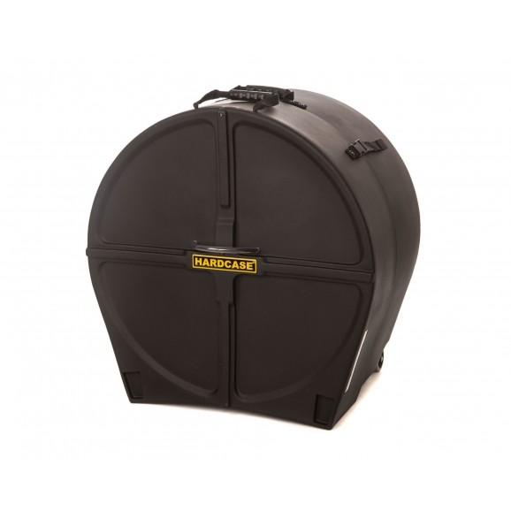 Hardcase 24 Inch Bass Drum Case in Black