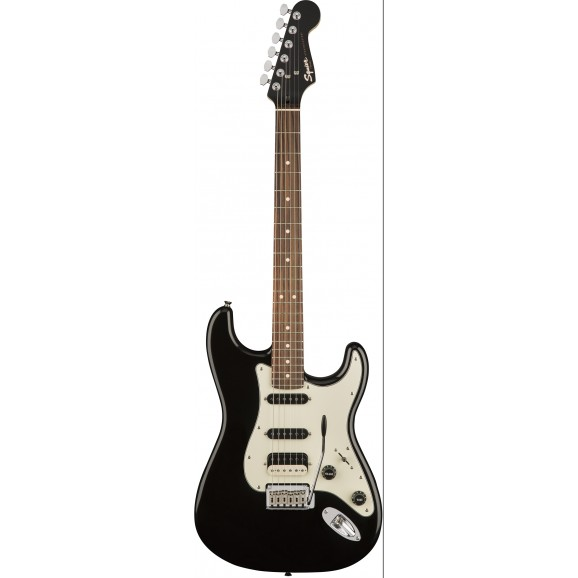 Squier Contemporary Stratocaster® HSS, Rosewood Fingerboard, Black Metallic