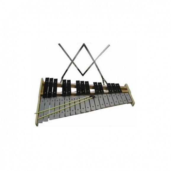 Mitello ED562 Glockenspiel 32 Note with Beaters & Music Rack