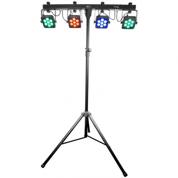 Chauvet DJ 4BarTri-USB Complete Wash Lighting Set