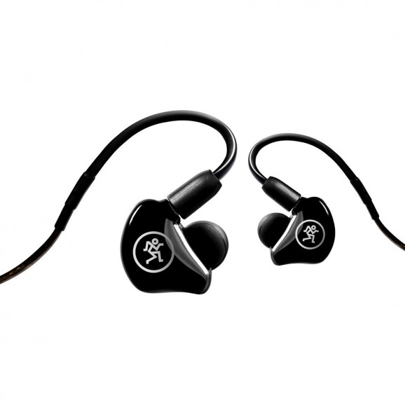 Mackie - MP-240 - Dual Hybrid Driver Professional In-Ear Monitors